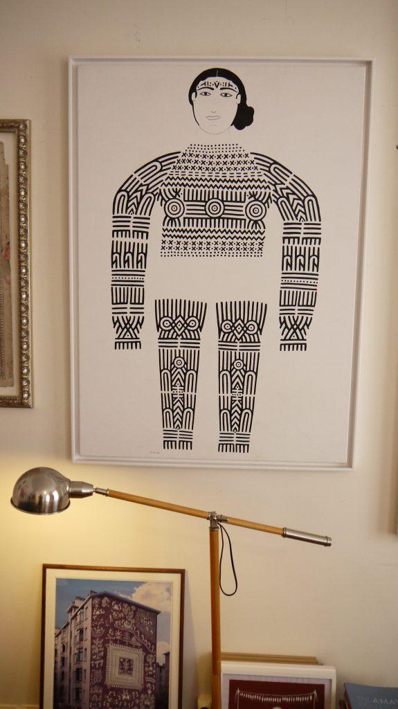 Dans la galerie en appartement d'Hervé Perdriolle
