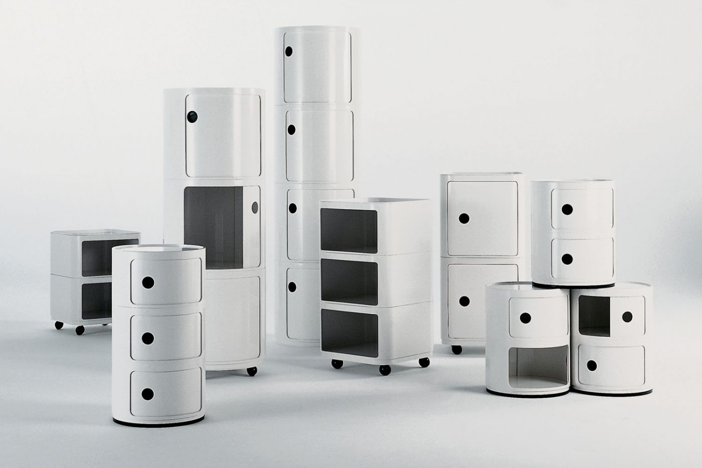 Anna Castelli, Componibili Modular Elements for Kartell