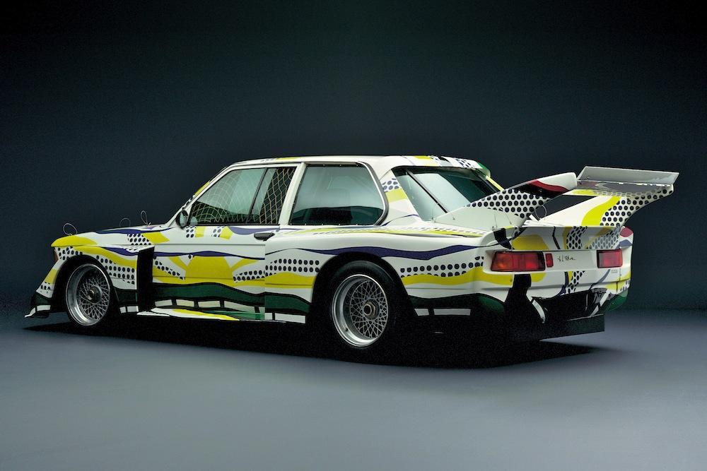 BMW 320 groupe 5 peinte par Roy Lichtenstein, 1977