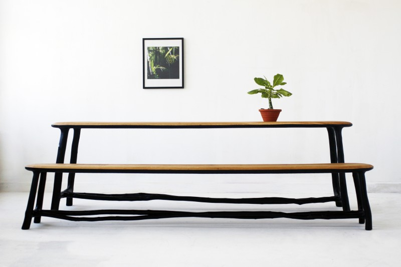 Valentin Loellmann. Table Fall/Winter, édition Galerie Gosserez