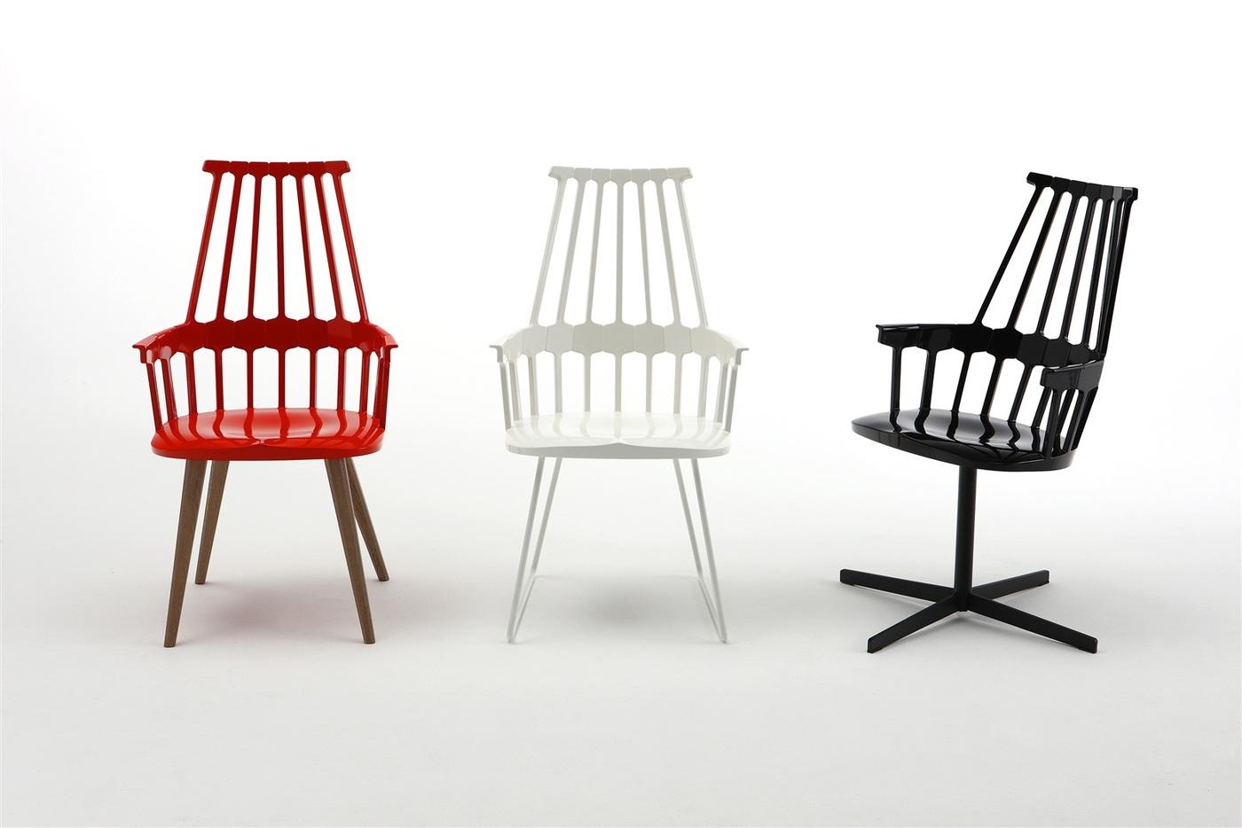 Patricia Urquiola, Comback Chair, éditées chez Kartell, 2012