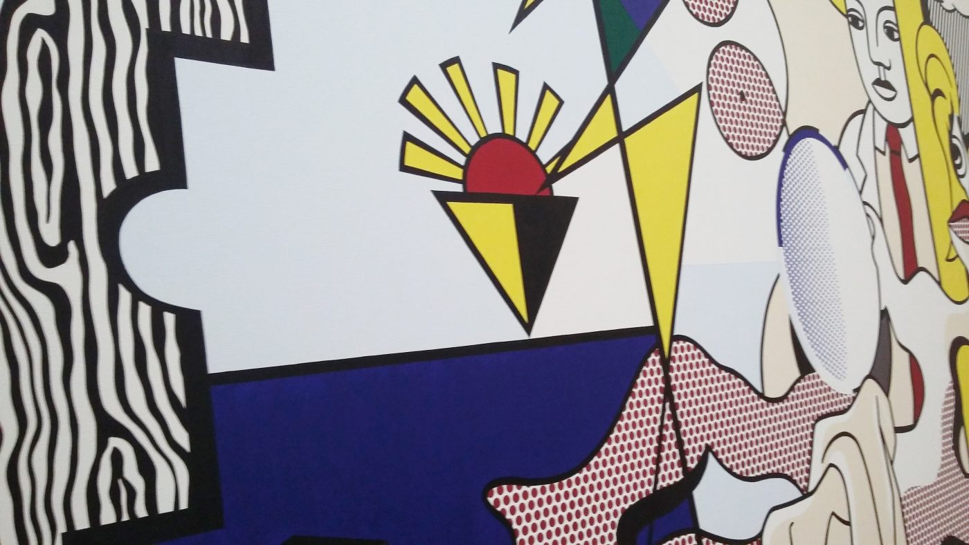 Roy Lichtenstein, Figures with Sunset, 1978