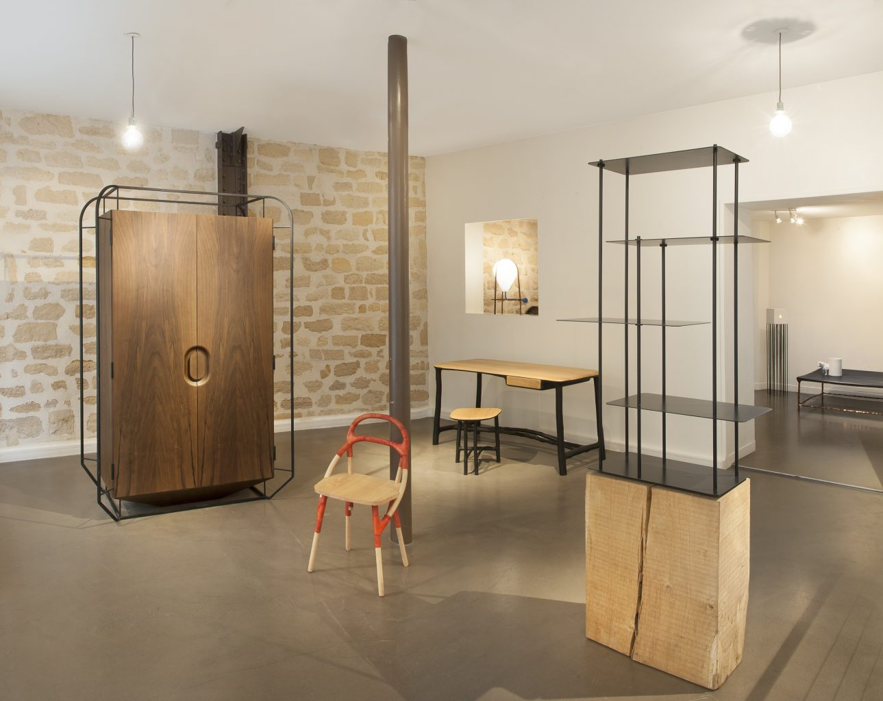 Galerie Gosserez, vue de l'étage