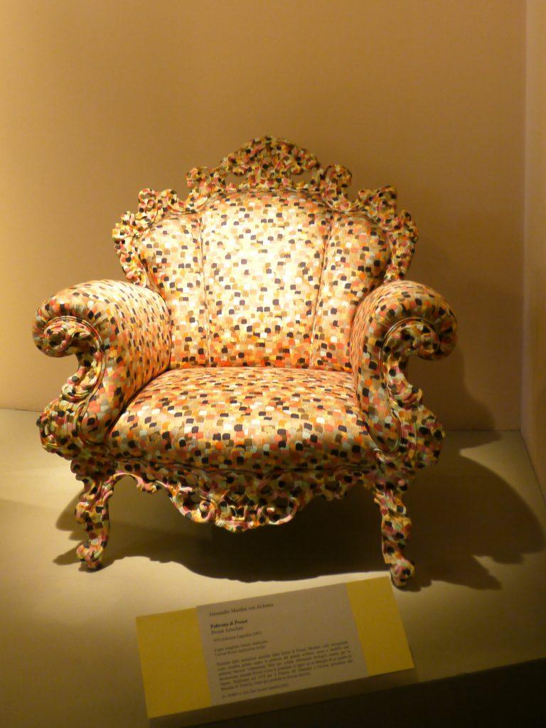 alessandro mendini fauteuil poltrona de proust 1978 alchimia art design tendance. Black Bedroom Furniture Sets. Home Design Ideas