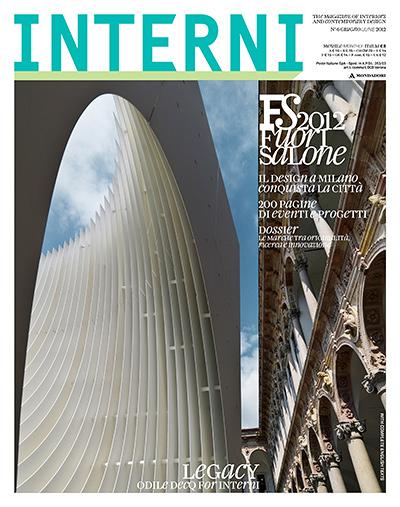 Interni, Couverture Juillet 2012