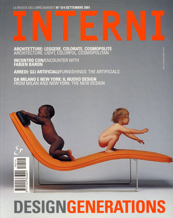 Interni, Couverture Septembre 2001