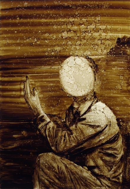 Gabriel Léger, série Peintures I, Drift, 2013.