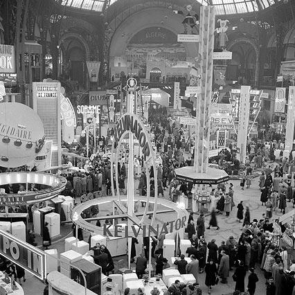 Le salon des arts m nagers paris grand palais 1952 art design tendance - Salon des arts creatifs paris ...
