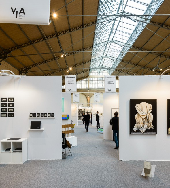 Vue du YIA ART FAIR ≠04 - 2014 (Le Carreau du Temple)