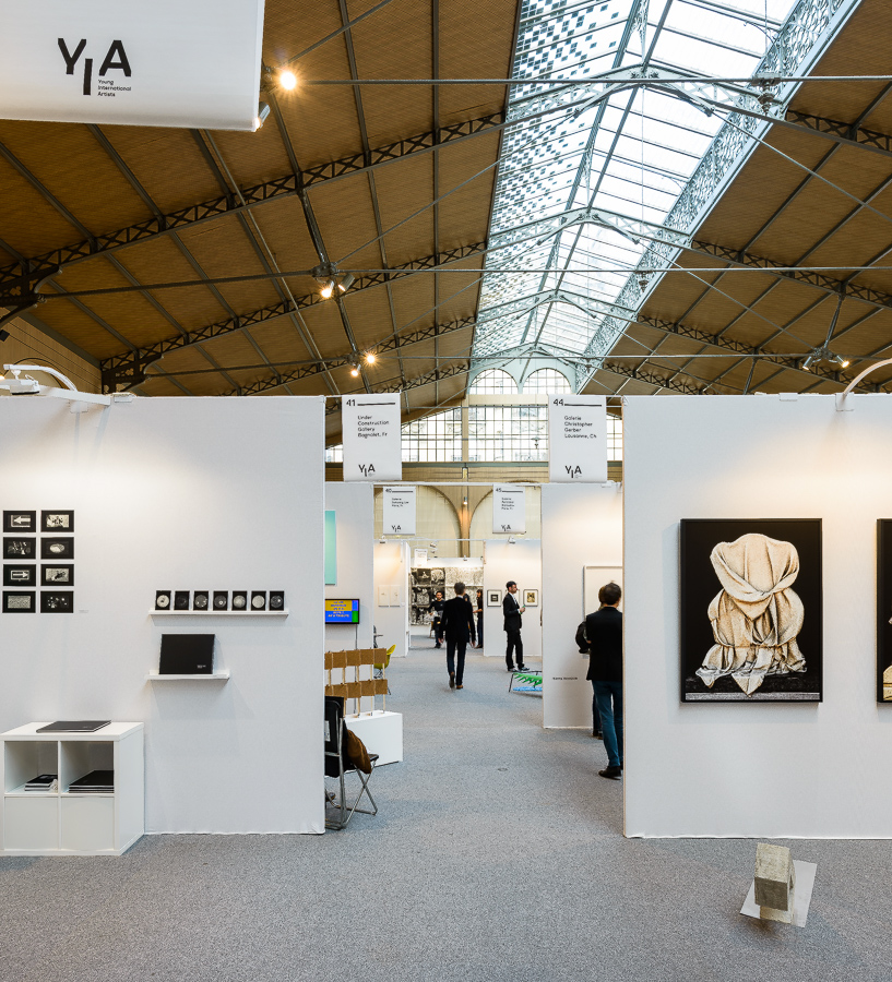 Vue du YIA ART FAIR 04 - 2014 (Le Carreau du Temple)