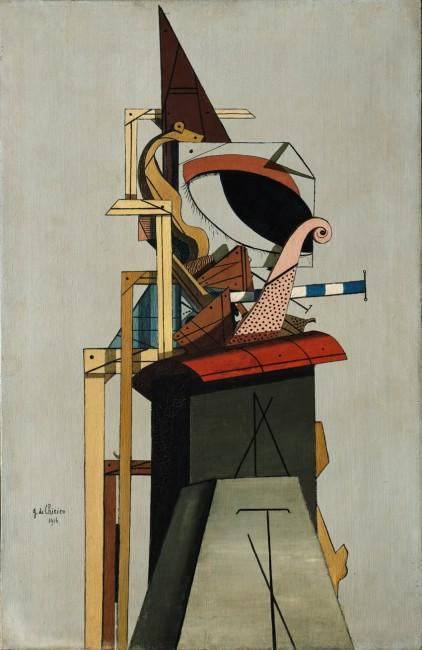 Giorgio de Chirico, L'ange juif, 1916