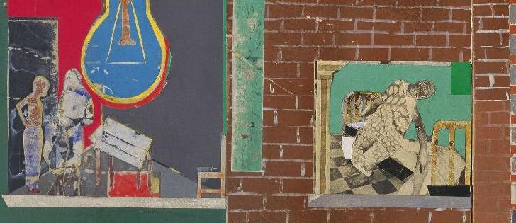 Romare Bearden, The Block, 1971, détail.