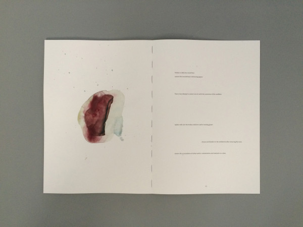 Asger Carlsen, projet Drawings, édition Watercolour