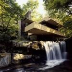 Maison sur la Cascade, 1936-1939, architecte Frank Lloyd Wright