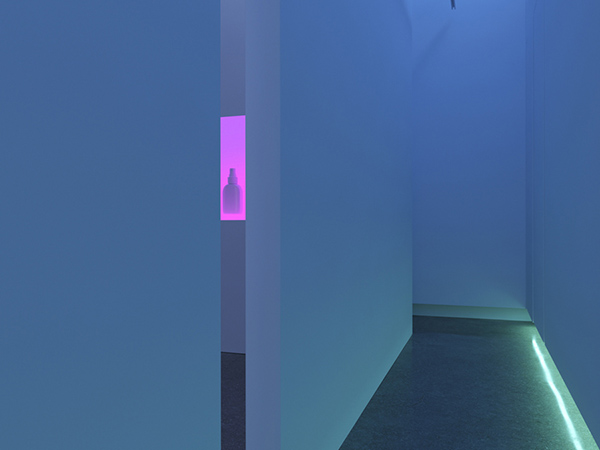 Dominic Hawgood, Under The Influence, vue de l'installation