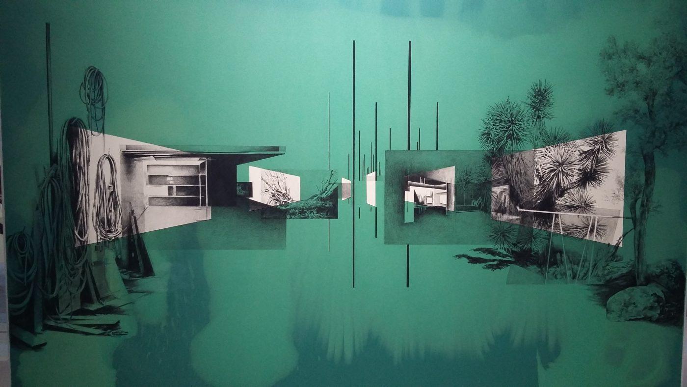 Dessin de Tatiana Trouvé, 13e Biennale de Lyon