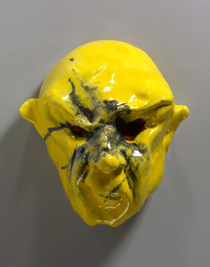 Thomas Schütte, Basler Maske, 2014. Oeuvre présentée dans le thème Masques et mascarons.