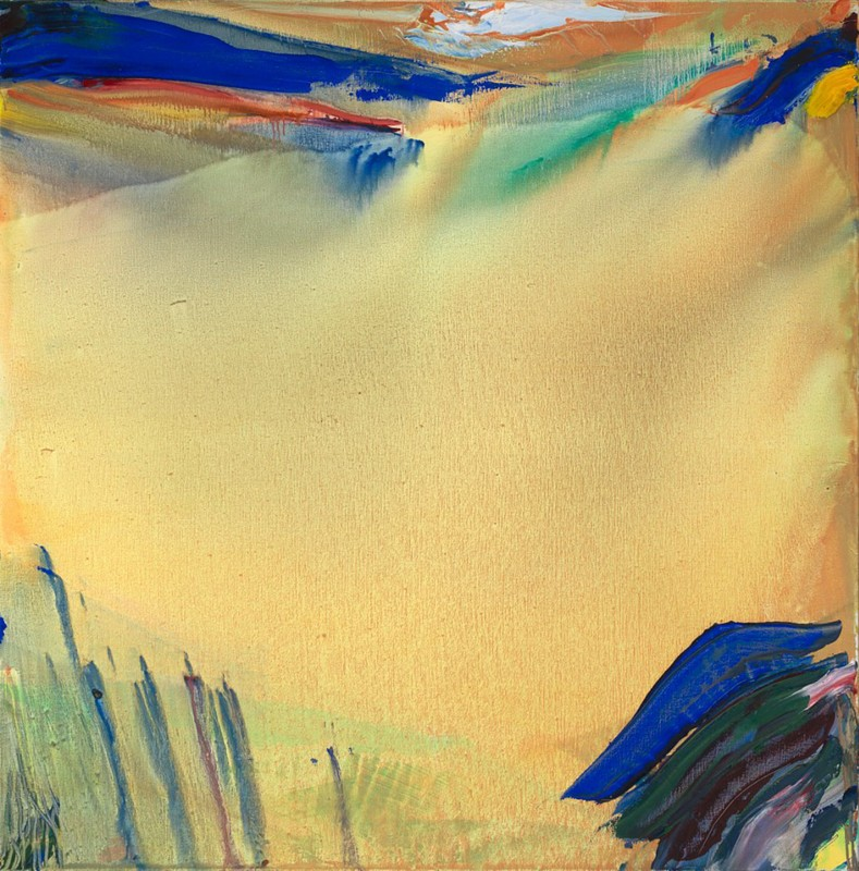 Olivier Debré, Haute montagne claire, huile sur toile, 1933