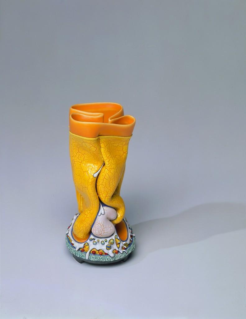 Kathy Butterly, Splash, 1998. Oeuvre présentée dans le cadre du thème Céramique funk