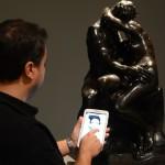 Musée des Beaux-Arts de Lyon, Audioguide en ligne davant Rodin.
