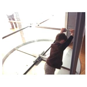 Exposition Yoko Ono Lumière de l'aube, Tourniquet