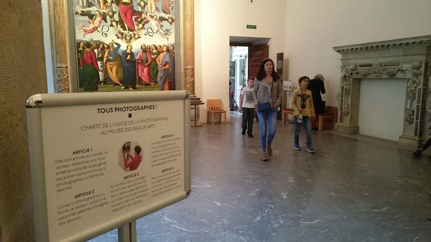 La charte Tous Photographes au Musée des Beaux-Arts de Lyon