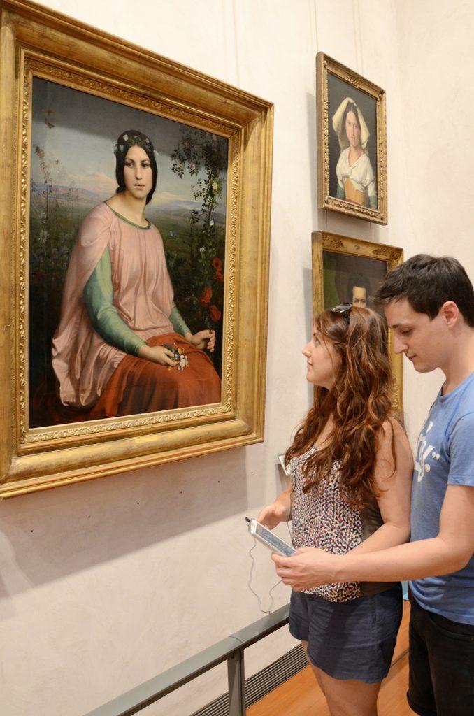 Découvrir les chefs d'oeuvre et s'instruire grâce au numérique. Un pari relevé par le Musée des Beaux-Arts de Lyon