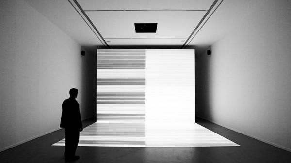 Ryoji Ikeda, test pattern, 2012