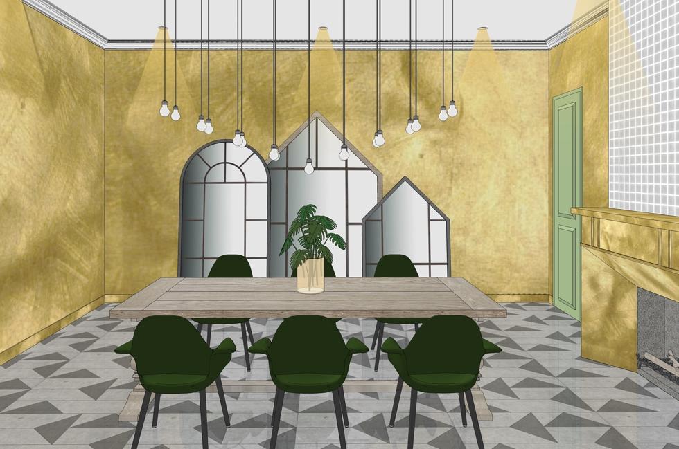 La proposition des architectes Iqra Firdausy et Esa anggita Saraswatie pour le Festival d'architecture intérieure, Bohemian Mediterranea