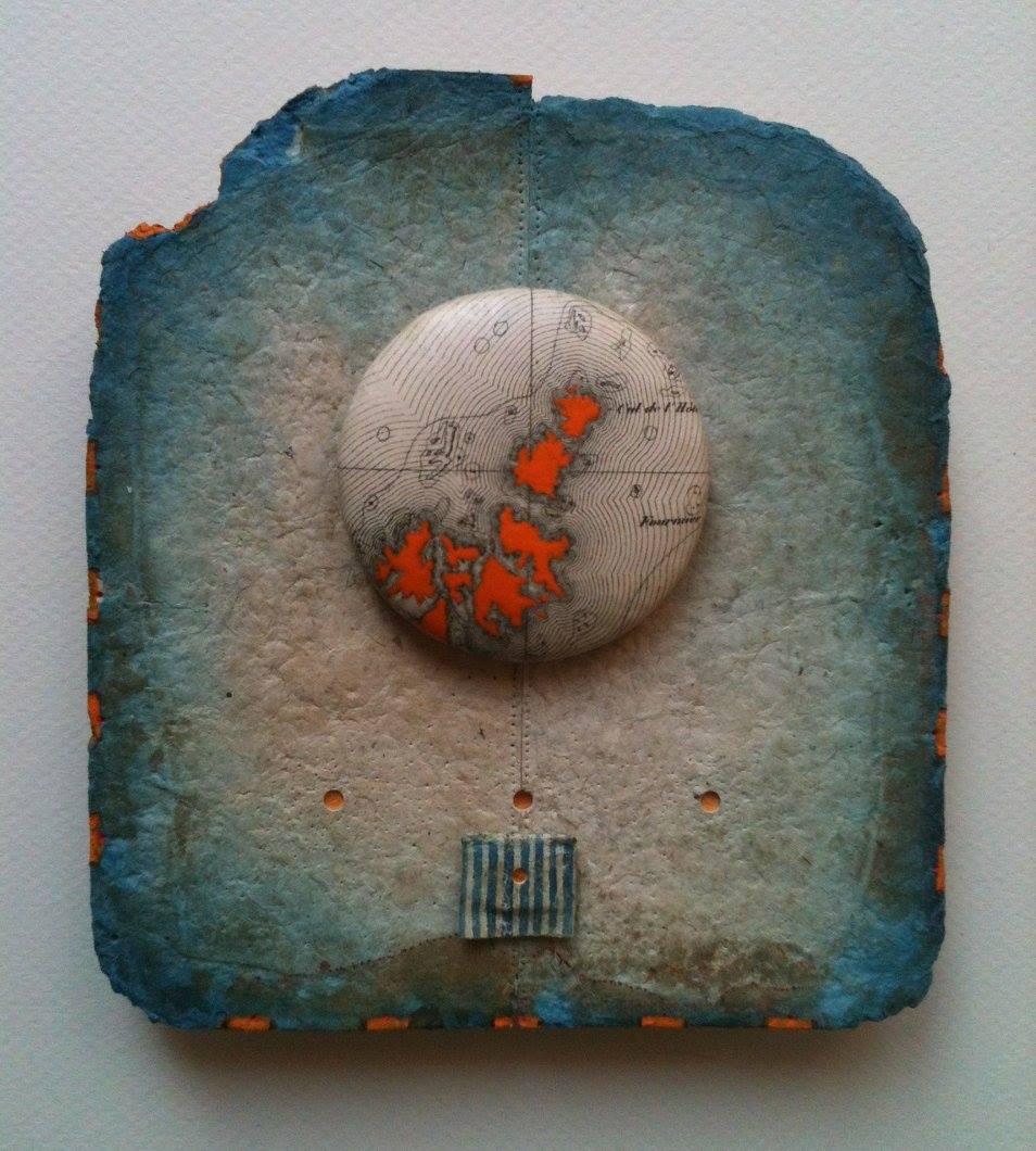 Jean-Christophe VIGNEAU, Presque les Moluques, technique mixte, 2015