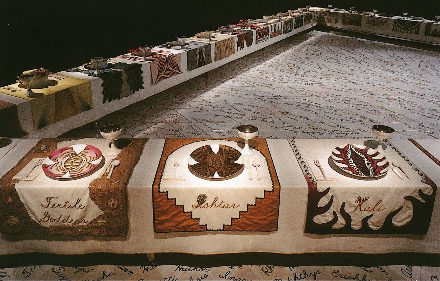 Judy Chicago, The Dinner party, 1974-1979