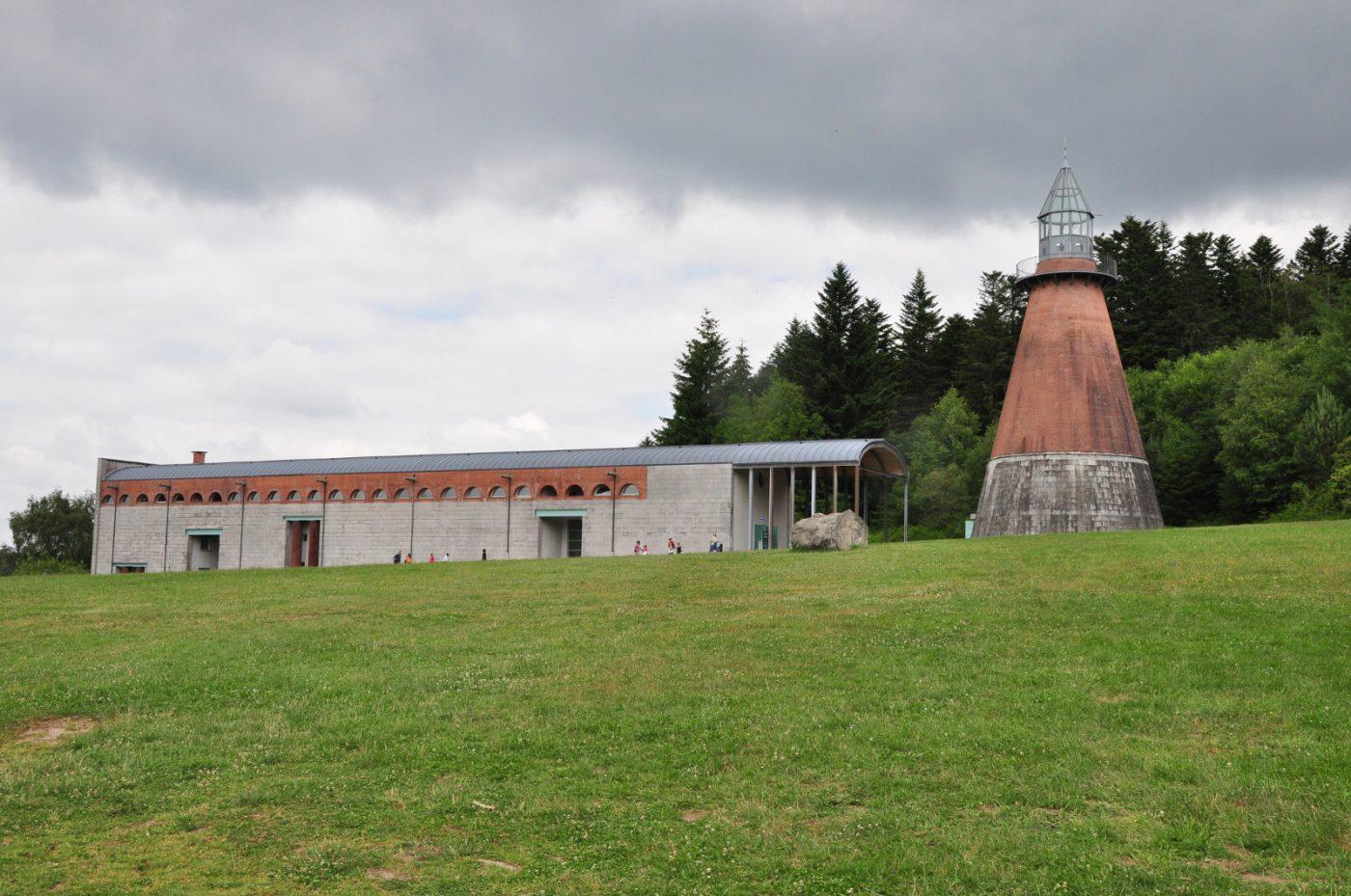 Le bâtiment emblématique du Centre international d'art et du paysage