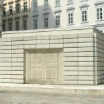 Rachel Whiteread, Holocaust, 2000. Monument commémoratif sur la Judenplatz de Vienne