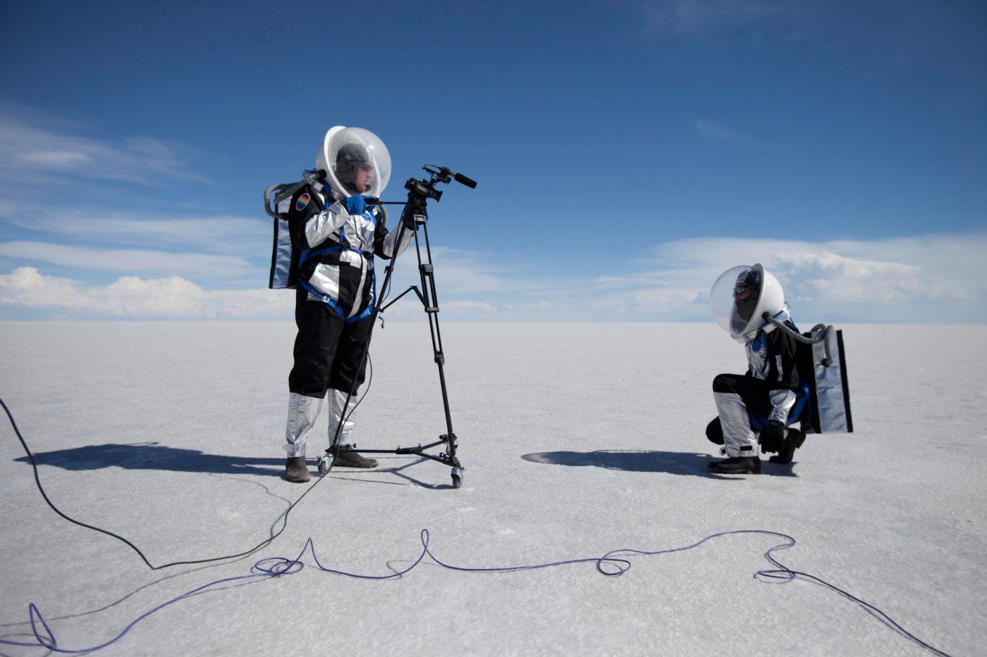 Thomas Lasbouygues, projet Elina2©Francois-Klein-WEB. L'artiste présentera son projet futuriste dans le cadre du parcours Exoplanète Lot