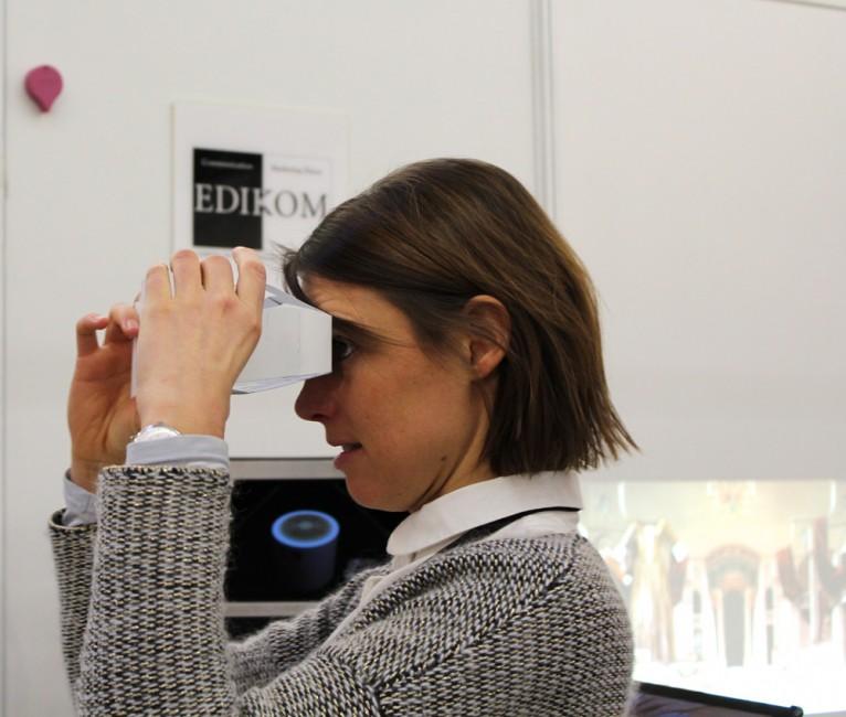 Museum Connections permet de tester les dernières technologies en cours du milieu culturel