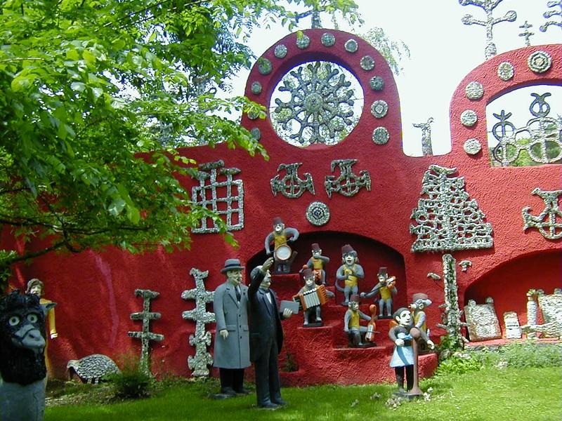 Les sculptures du jardin de La Fabuloserie