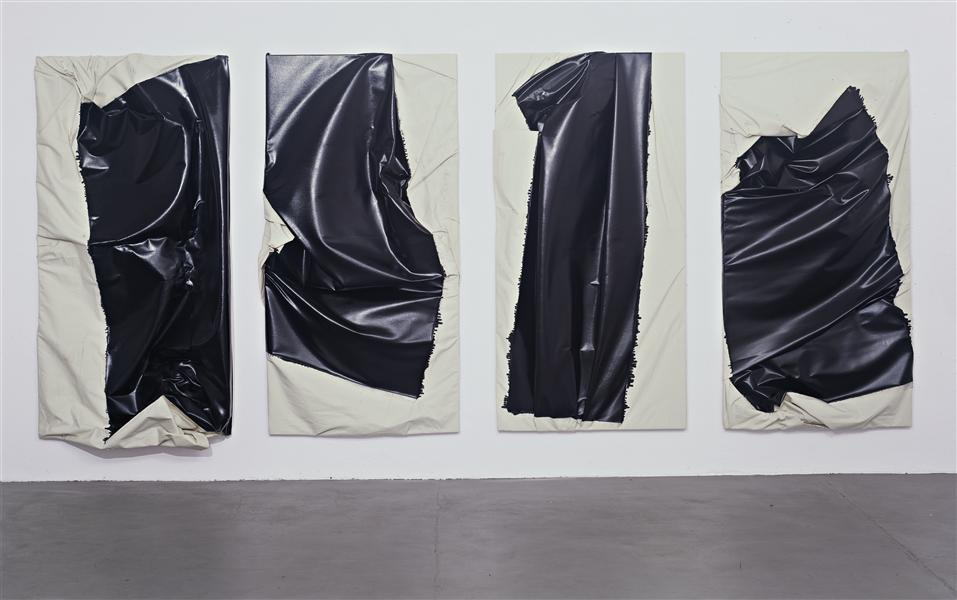 Steven Parrino, Creeping eye, 1993