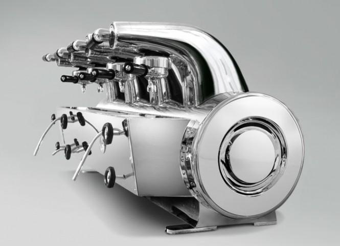 Gio Ponti, Machine à expresso La Pavoni, 1948