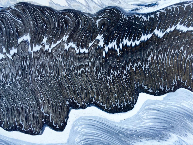 Silvère Jarrosson, Détails, acrylique sur toile, 2016
