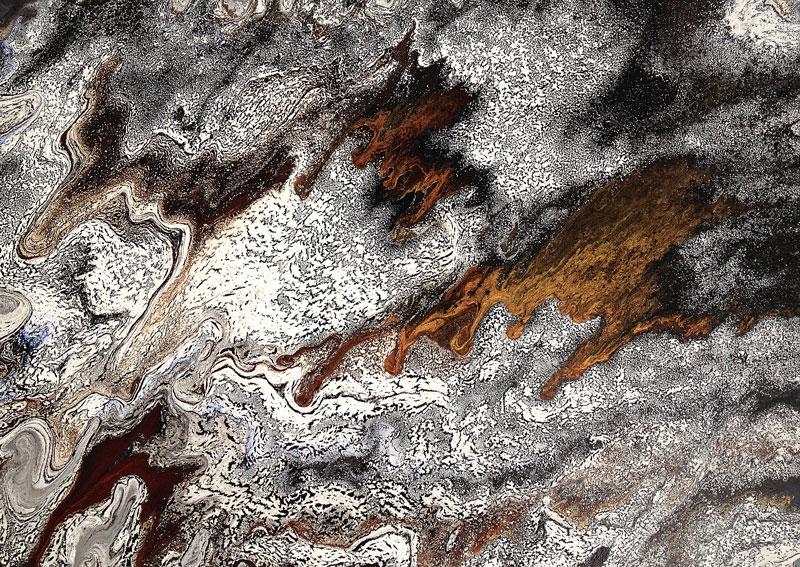 Silvère Jarrosson, No man's land (4), acrylique sur toile, 70x50 cm, 2015