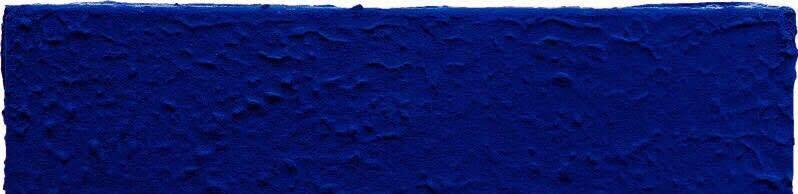 Yves Klein, Monochrome bleu sans titre - 1959 (détail)