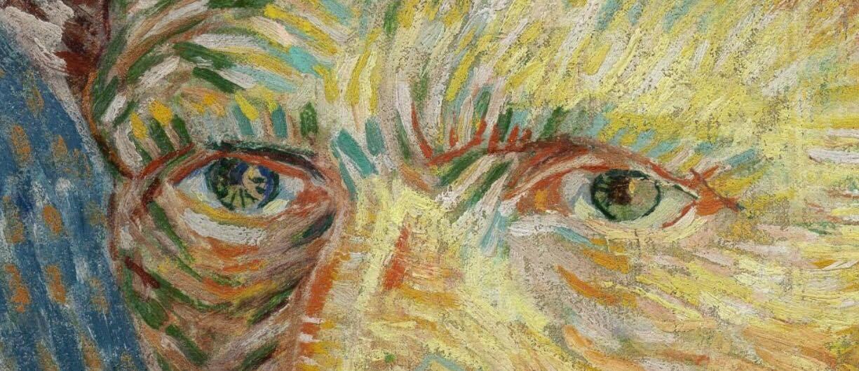 Vincent Van Gogh, Auto-portrait - 1887 (œuvre et détail)