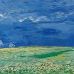 Vincent van Gogh, Wheatfield under Thunderclouds,1890. Un des nombreux chefs d'oeuvre présent au Musée Van Gogh d'Amsterdam