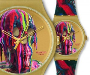 En 2012, l'artiste allemand Markus Linnenbrink conçoit 2 modèles pour Swatch dont celle-ci : We're All Gonna Die (Forron) SUOZ115