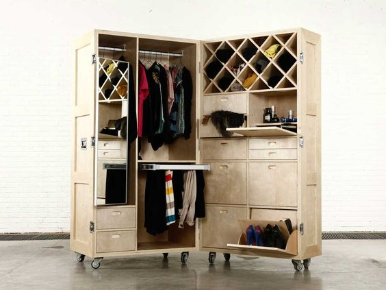 Naihan li collection the crates meuble garde robe mobile photo via site - Garde meuble villeurbanne ...