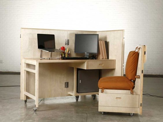 Naihan Li, collection The Crates, bureau mobile. Photo via site blog.gessato.com
