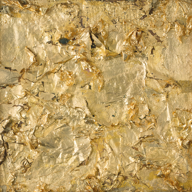 Richard Rauschenberg, Reproduction en édition limitée, Untitled (Gold Painting), 1955. En vente sur la boutique en ligne de la Tate