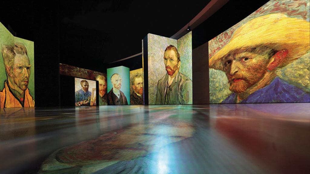 The Van Gogh Museum Experience Alive : une exposition multimedia itinérante vendue par le Van Gogh Museum