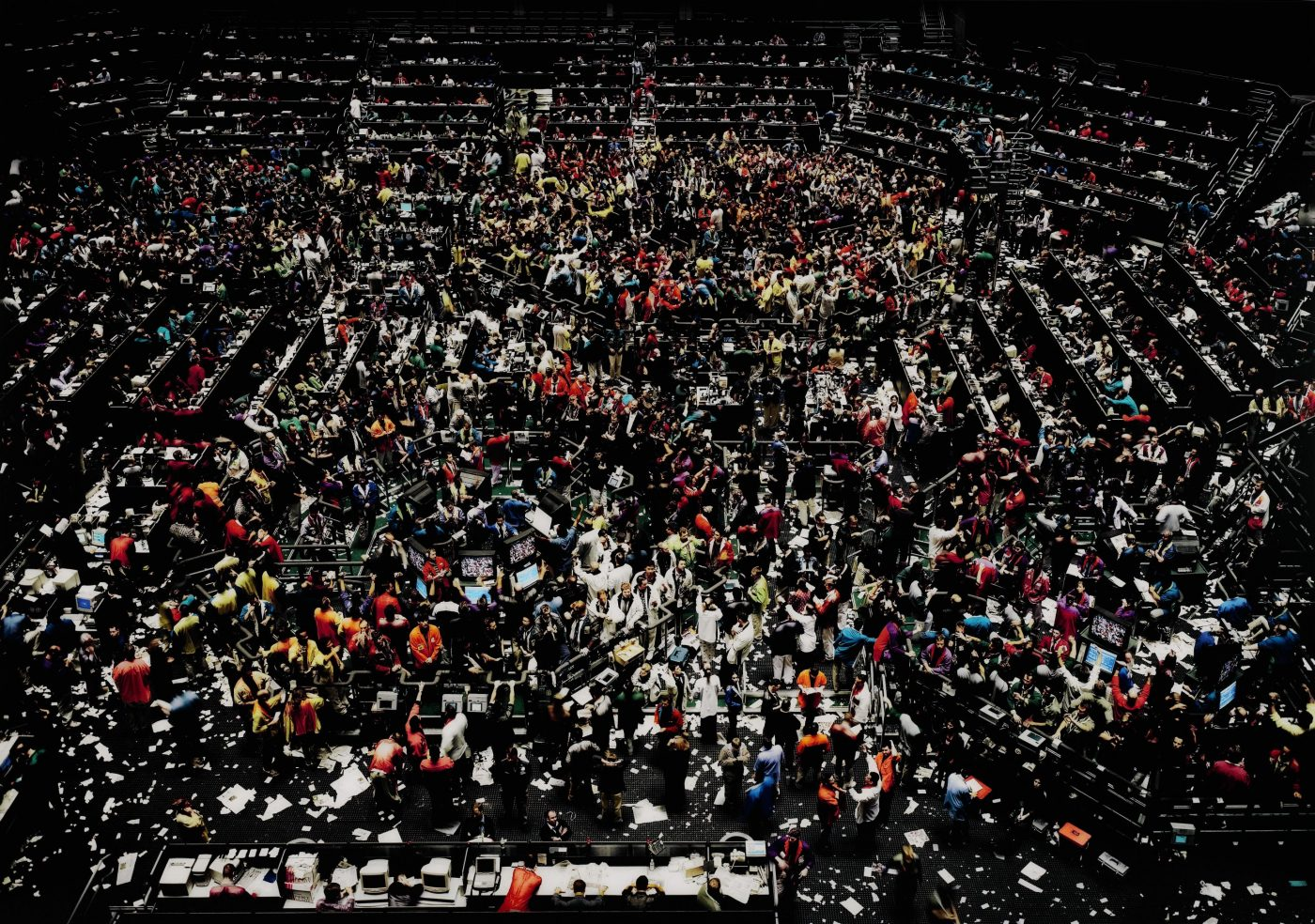 Andreas Gursky, Chicago board of trade III 1999-2009