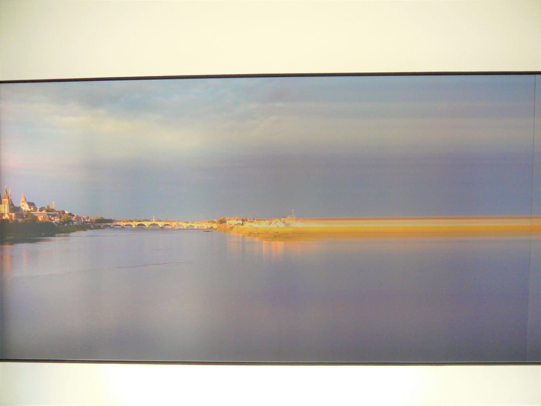 Manolo Chrétien, HORIZON LOIRE, 900 x 130 cm. 24.09.2016